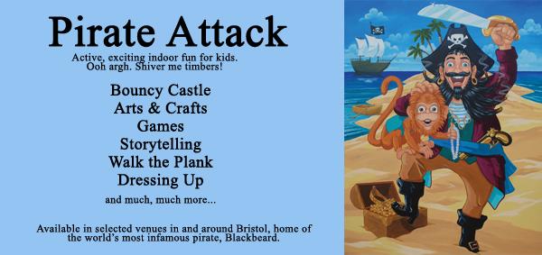 pirate event in Bristol